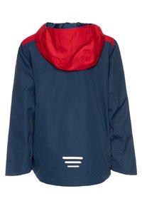 TrollKids - KIDS BERGEN - Hardshell jacket - bright red/mystic blue - 1
