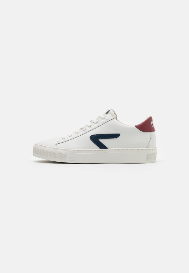 HOOK  - Sneakers laag - offwhite/gravel/blue