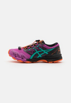 FUJITRABUCO SKY - Trail running shoes - digital grape/baltic jewel