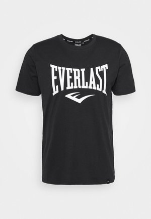 BASIC TEE RUSSEL - Camiseta estampada - black