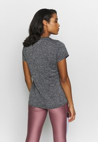 Under Armour - TECH TWIST - Camiseta de deporte - black/metallic silver - 2