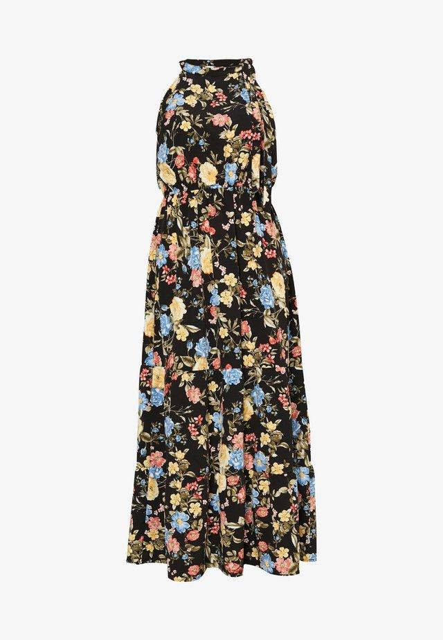TIE NECK FLORAL DRESS - Maxiklänning - multi coloured