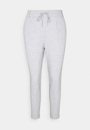 ONLPOPSWEAT EVERY LIFE EASY PNT NOO - Teplákové kalhoty - light grey melange
