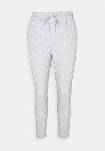 ONLPOP EVERY LIFE EASY - Trousers - light grey melange