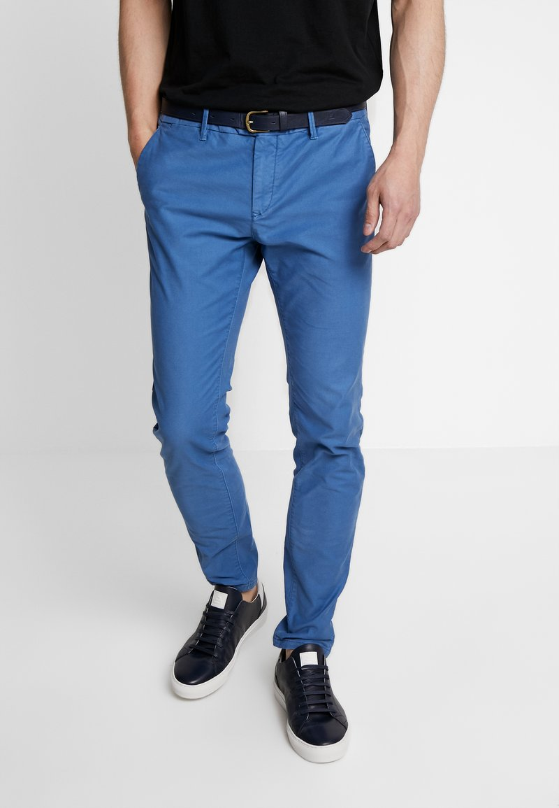 Scotch & Soda - MOTT CLASSIC GARMENT DYED - Chino - worker blue
