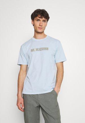 BLATTER TEE - Print T-shirt - aether blue
