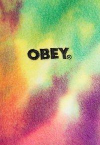 Obey Clothing - RUSSETT HOOD - Mikina - yellow multi - 7