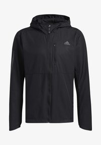 adidas Performance - OWN THE RUN HOODED WINDBREAKER - Training jacket - black - 7