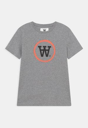 OLA UNISEX - Print T-shirt - grey melange