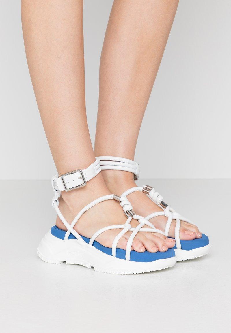 Sportmax - DIRETTA - Platform sandals - bianco
