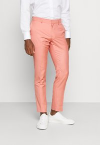 Isaac Dewhirst - THE FASHION SUIT NOTCH - Suit - coral - 4