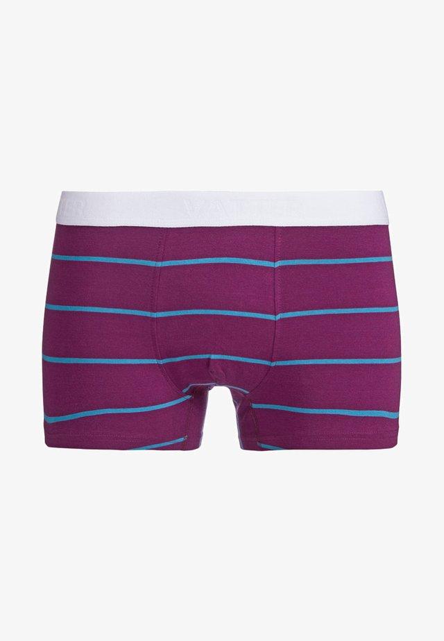 Pants - purple/blue stripes
