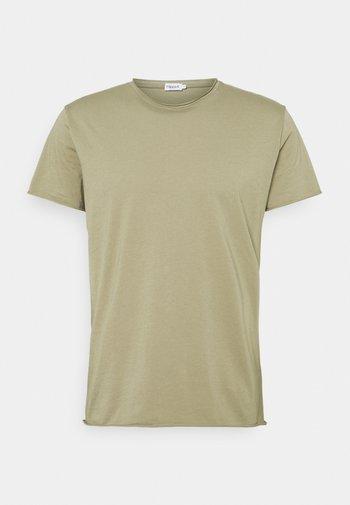 ROLL NECK TEE - T-shirt basic - sage green