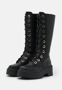 River Island - Lace-up boots - black - 2