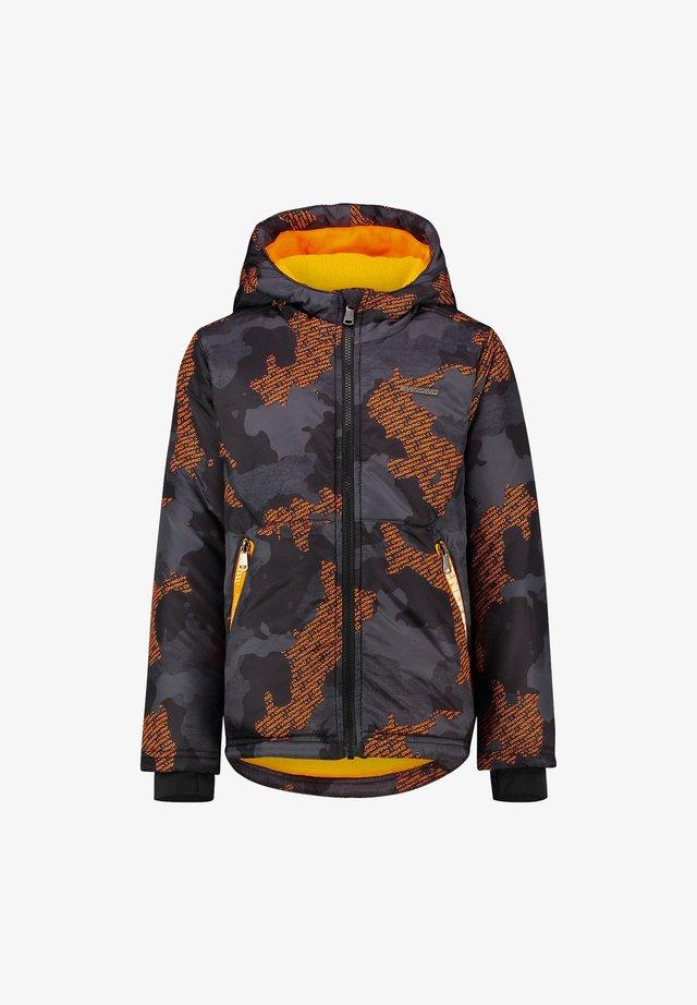TANNIS - Winter jacket - deep black