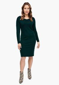 Triangle - Shift dress - emerald - 3