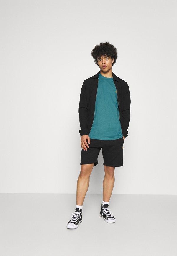Carhartt WIP CHASE - T-shirt basic - hydro/niebieski Odzież Męska LWPY