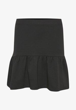 JANISAPW SK - A-line skirt - black