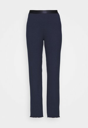 SOLID LONNIE - Tracksuit bottoms - navy
