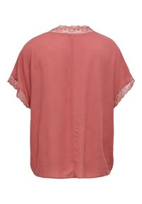 ONLY Carmakoma - LOCKERES CURVY - Print T-shirt - mineral red - 1
