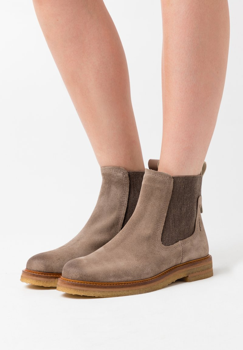 Marc O'Polo - BRENDA - Classic ankle boots - taupe