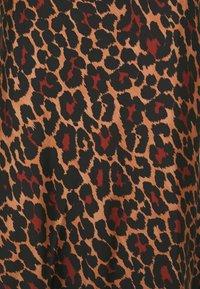 J.CREW - MARCO SKIRT LEOPARD - Áčková sukně - brown black - 2