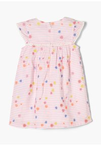 s.Oliver - Day dress - light pink stripes & flowers - 1