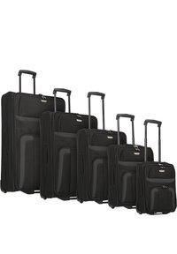 Travelite - ORLANDO 2-ROLLEN KOFFERSET 5TLG. - Luggage set - schwarz - 0