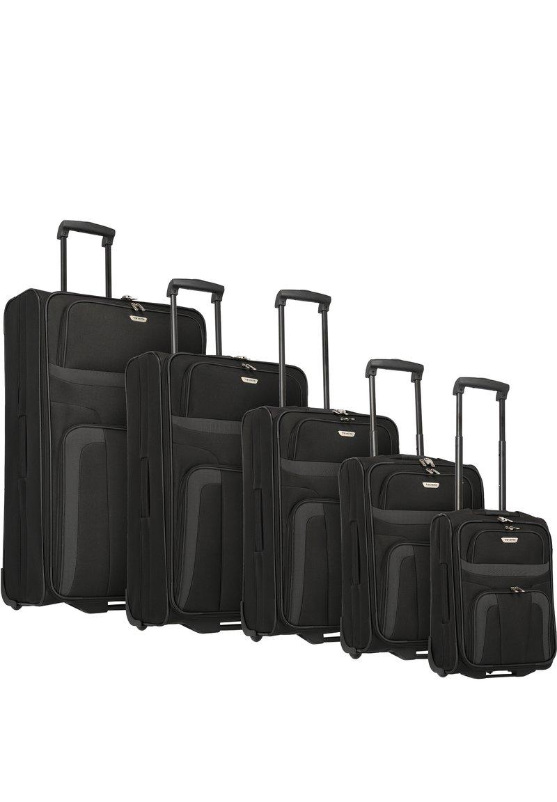 Travelite - ORLANDO 2-ROLLEN KOFFERSET 5TLG. - Luggage set - schwarz