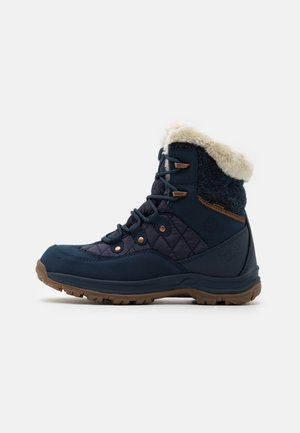 ASPEN TEXAPORE MID  - Winter boots - dark blue/blue
