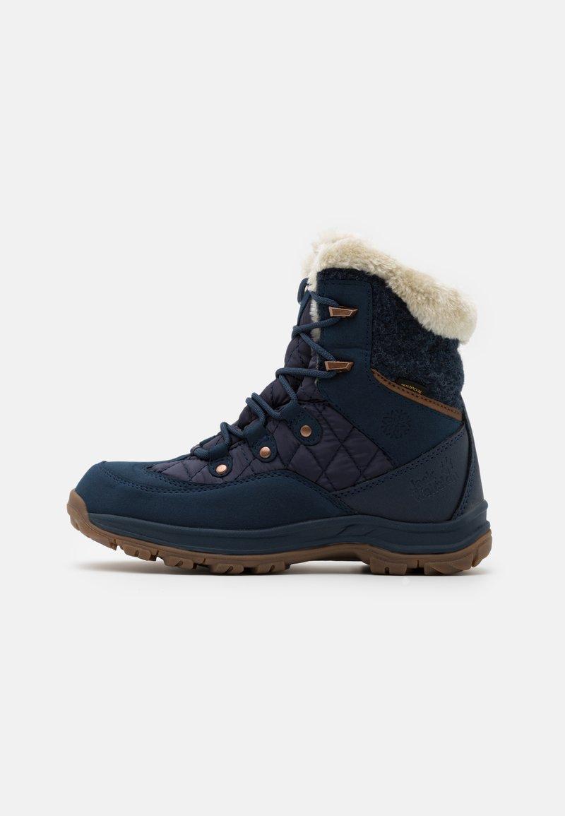 Jack Wolfskin - ASPEN TEXAPORE MID  - Winter boots - dark blue/blue