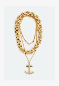 Uterqüe - Necklace - gold - 0