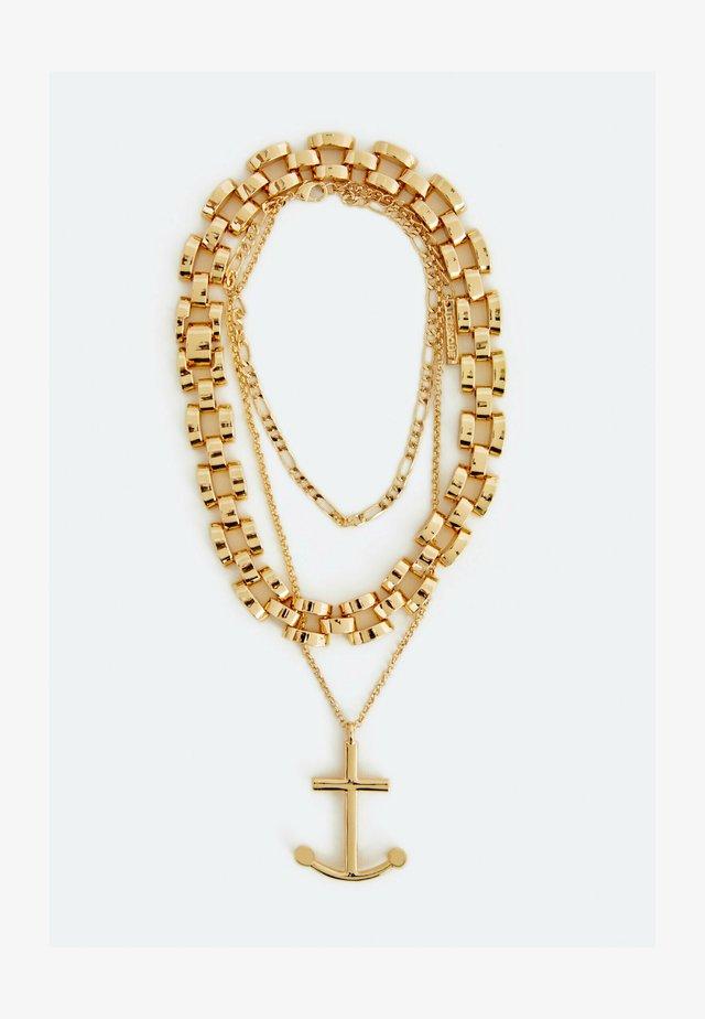 Náhrdelník - gold