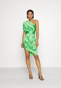 Never Fully Dressed - SUMMER RAINBOW JASPRE - Wrap skirt - green - 4