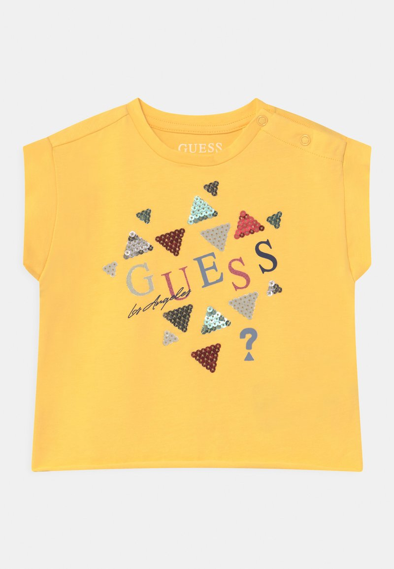 Guess - MIDI - Print T-shirt - sunlight