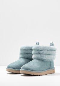 UGG - FLUFF MINI - Bottes de neige - succulent - 4