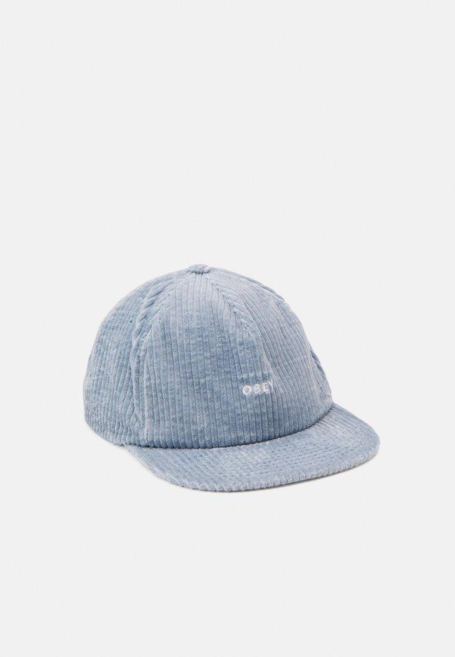 BOLD STRAPBACK UNISEX - Lippalakki - ice blue
