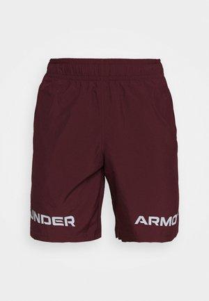 GRAPHIC SHORT - Pantaloncini sportivi - bordeaux