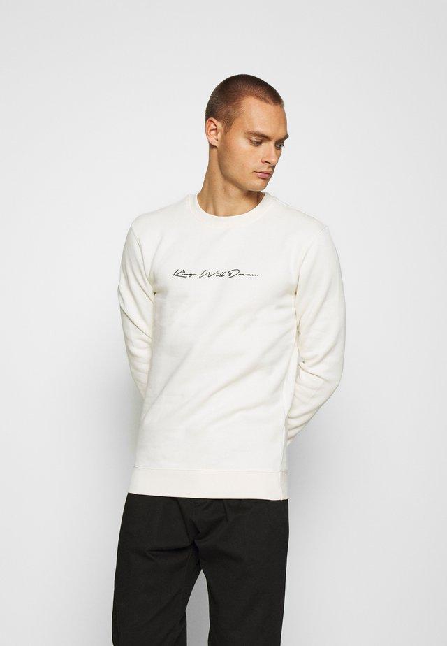 UNISEX JAMIE CREW - Sweatshirt - ecru