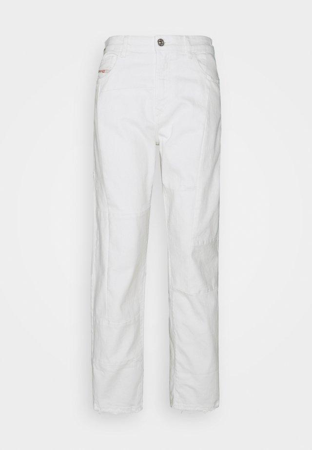 REGGY  - Džíny Straight Fit - white