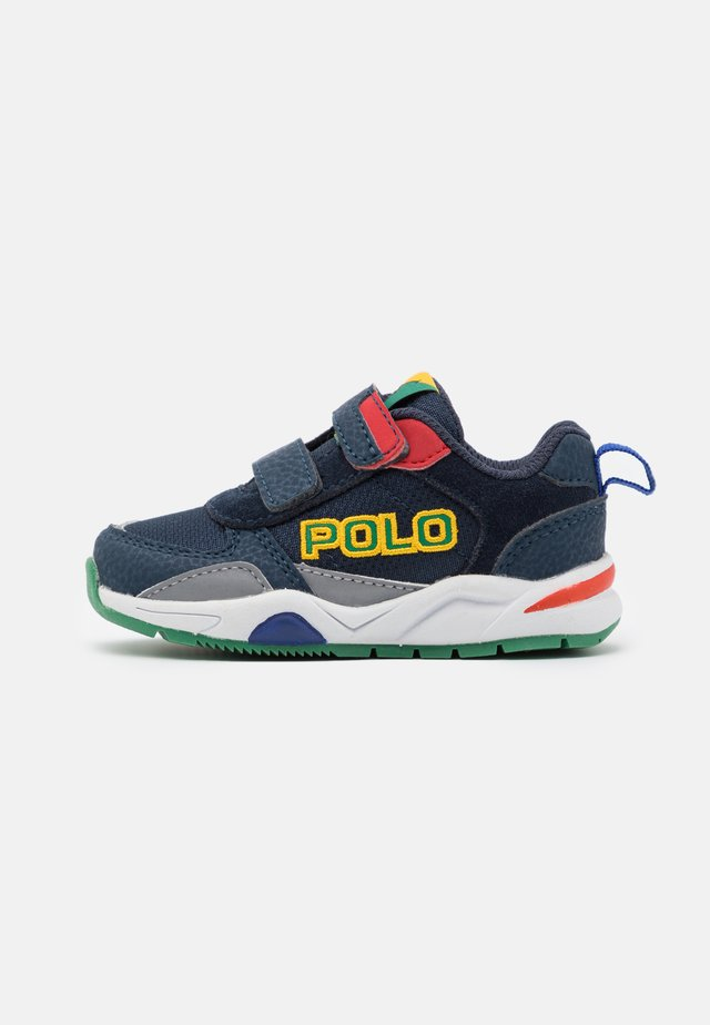 CHANING  - Sneakersy niskie - navy/green/red