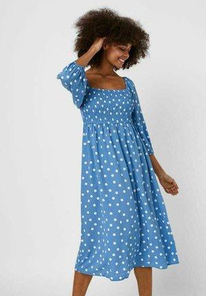 Day dress - azure blue