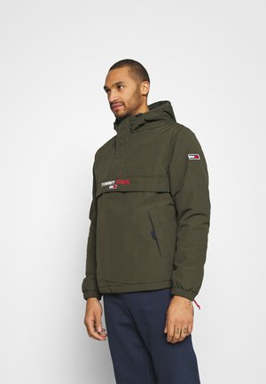SOLID POPOVER JACKET UNISEX - Windbreaker - dark olive