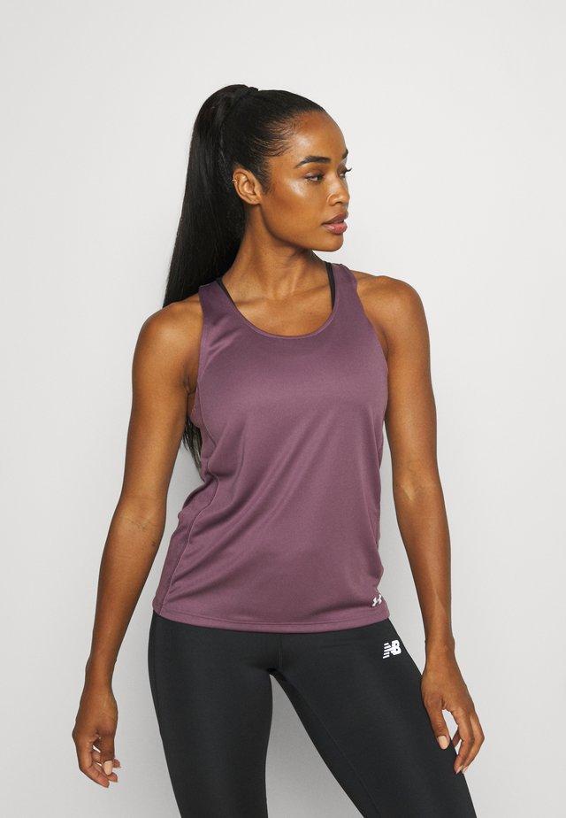 FLY BY TANK - T-shirt sportiva - purple