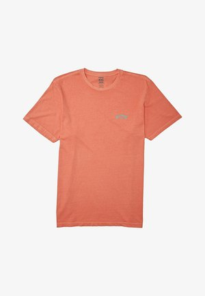ARCH WAVE  - Print T-shirt - coral