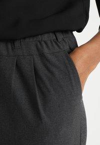 Kaffe - JILLIAN  - Shorts - dark grey melange - 3