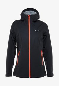 Salewa - AQUA - Hardshell jacket - black out - 3