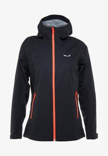 AQUA - Hardshell jacket - black out