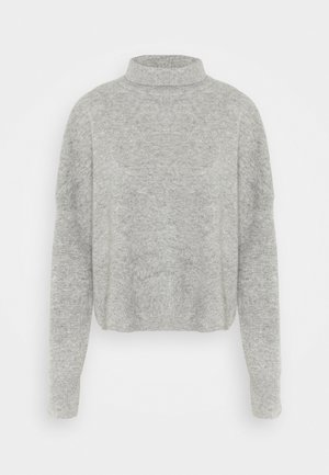 NOLA TURTLENECK - Jumper - grey melange