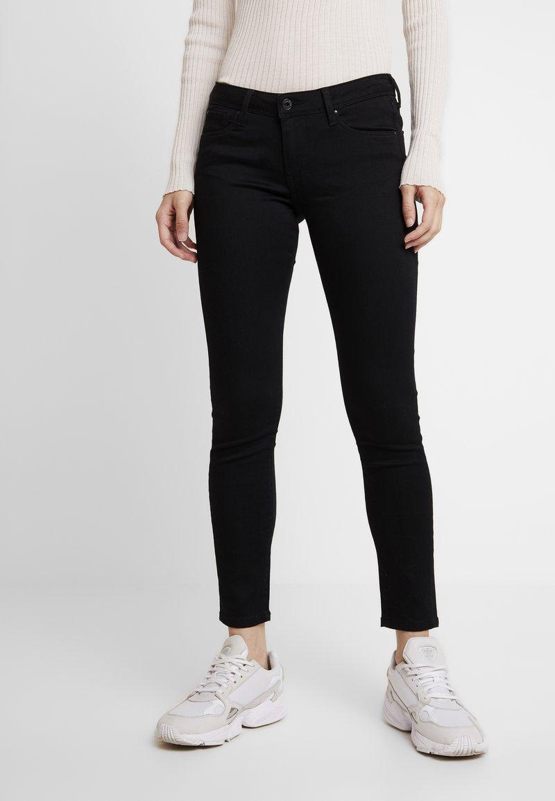 Pepe Jeans - LOLA - Skinny džíny - black denim